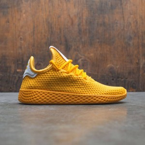 Adidas x Pharrell Williams Big Kids Tennis Hu J (gold / collegiate gold / footwear white)