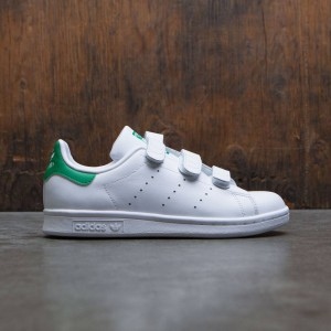 Adidas Big Kids Stan Smith CF J (white / footwear white)