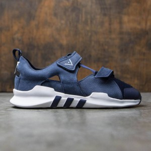 Adidas Men White Mountaineering ADV Sandals (navy / collegiate navy / footwear white)