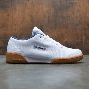 Reebok Men Workout Clean OG Ultraknit (white / classic white / collegiate navy)