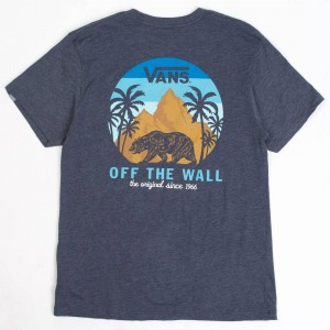 Vans Men Cali Dreamin Tee (navy / heather)