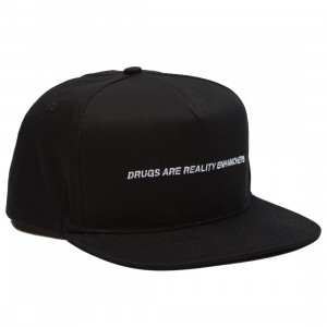10 Deep Drugs Cap (black)