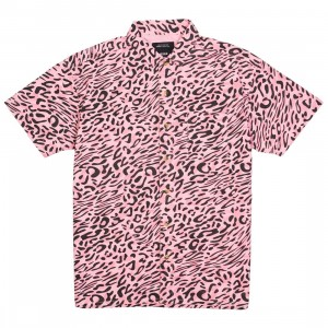 10 Deep Men South Beach Button Up Shirt (pink)