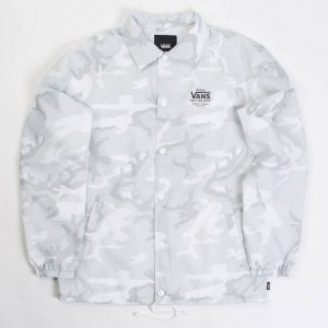 Vans Men Torrey Jacket (white / camo)