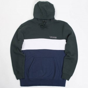 Vans Men Starboard Pullover Hoody (blue / dress blues / green)