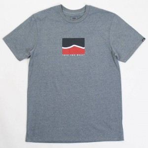 Vans Men Short Stack Tee (gray / heather)