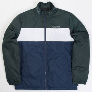 Vans Men Starboard Jacket (blue / dress blues / green)