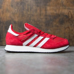 Adidas Men Atlanta SPZL (red / scarlet / chalk white / gold metallic)