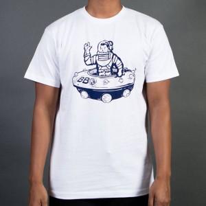 Billionaire Boys Club Men UFO Tee (white)