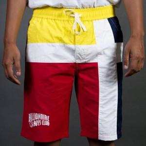 Billionaire Boys Club Men Dock Shorts (red)