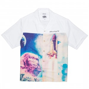 Billionaire Boys Club Men Egyptian Nights Woven Knit (white)