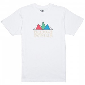 Billionaire Boys Club Men Levels Knit Tee (white)