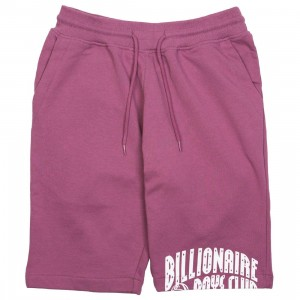Billionaire Boys Club Men BB Arch Shorts (burgundy / bordeaux)