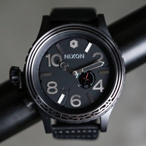 Nixon x Star Wars 51-30 Leather Watch - Kylo Ren (black)