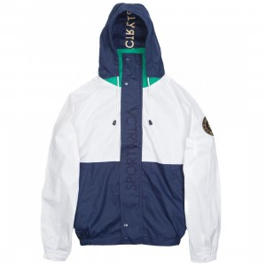 10 Deep Men Competition Jacket (white / green)