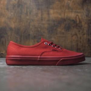 Vans Men Authentic - Primary Mono (red / silver)