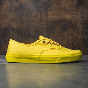 Vans Men Authentic - Primary Mono (yellow / silver)