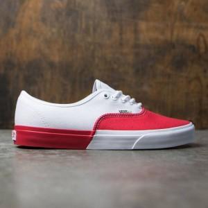Vans Men Authentic DX - Blocked (white / red)