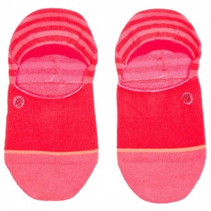 Stance Women Uncommon Invisible Socks (red)