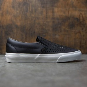 Vans Men Classic Slip-On Dx - Havana Perforated Leather (black)