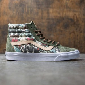Vans Men SK8-Hi Reissue DX - Havana (green / floral)