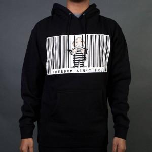 BAIT x Hasbro Monopoly Men Freedom Ain't Free Hoody (black)