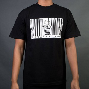 BAIT x Hasbro Monopoly Men Freedom Ain't Free Tee (black)