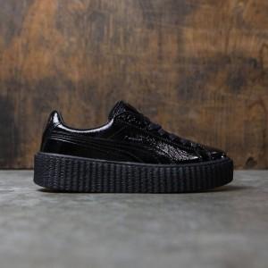 Puma x Fenty By Rihanna Women Creeper - Cracked Leather (black)