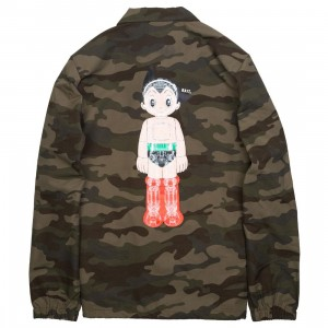 BAIT x Astro Boy Men Mechanics Coaches Jacket (camo)