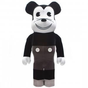 Medicom Disney Mickey Mouse Vintage B&W Ver. 1000% Bearbrick Figure (black / white)