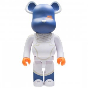 Medicom Nike SB Dunk Elite High 1000% Bearbrick Figure (white)