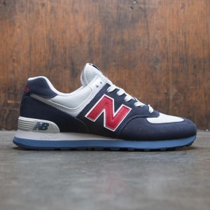 New Balance Men 574 Core Plus ML574ESC (navy / red)