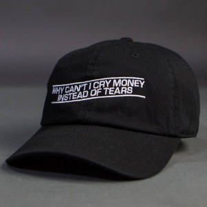 Dimepiece Why Can't I Cry Money Cap (black)