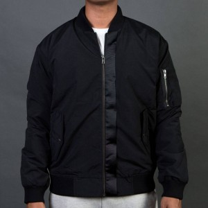 Barney Cools Men B Bold Bomber Jacket (black)