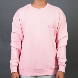 Barney Cools Men Girls Girls Girls Crew Sweater (pink)