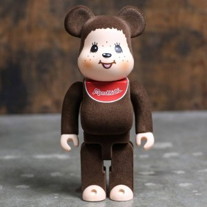 Medicom Monchhichi 400% Bearbrick Figure (brown)