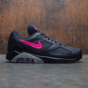 Nike Men Air Max 180 (black / pink blast-wolf grey)
