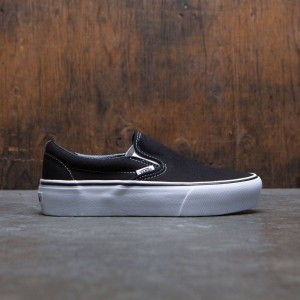Vans Women Classic Slip-On Platform (black)