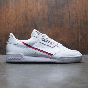 Adidas Men Continental 80 Rascal (white / scarlet / collegiate navy)