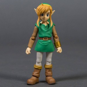 Good Smile Company Legend of Zelda Link Between Worlds Link Figma Deluxe Version Action Figure (green)