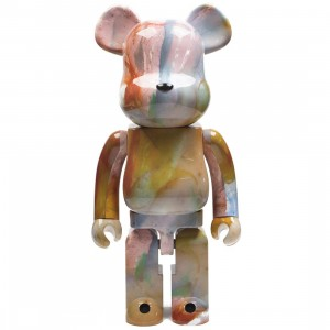 Medicom Pushead 1000% Bearbrick Figure (brown)