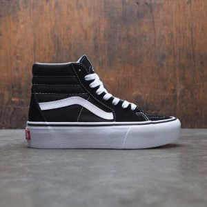 Vans Women SK8-Hi Platform 2 (black / true white)