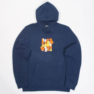 Undefeated Men Camo 5 Strike Hoody (navy)
