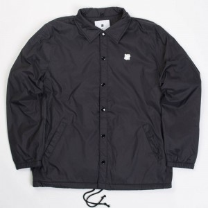 Undefeated Men 5 Strike Coaches Jacket (black)