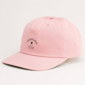 Undefeated Champions Strapback Cap (pink)