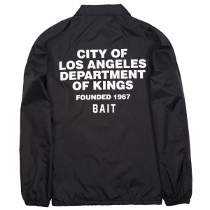 BAIT Men Department Coach Jacket (black)