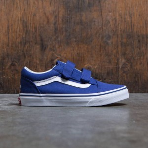 Vans x MLB Los Angeles Dodgers Little Kids Old Skool V - Dodgers (blue)