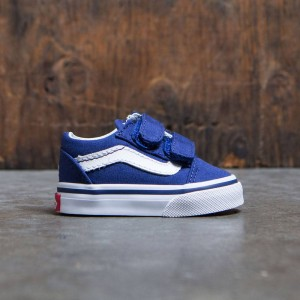 Vans x MLB Los Angeles Dodgers Toddlers Old Skool V - Dodgers (blue)