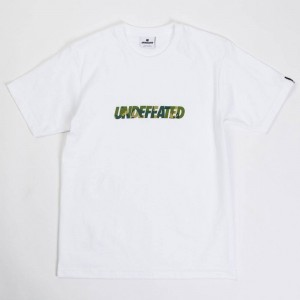 Undefeated Men Camo Undefeated Tee (white)