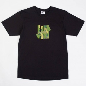 Undefeated Men Camo 5 Strike Tee (black)